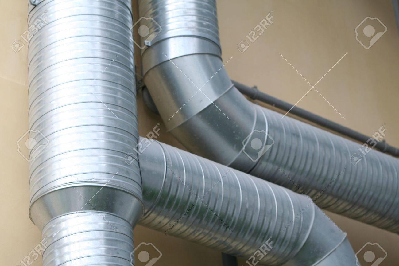 ventilation pipes Stock Photo - 576589