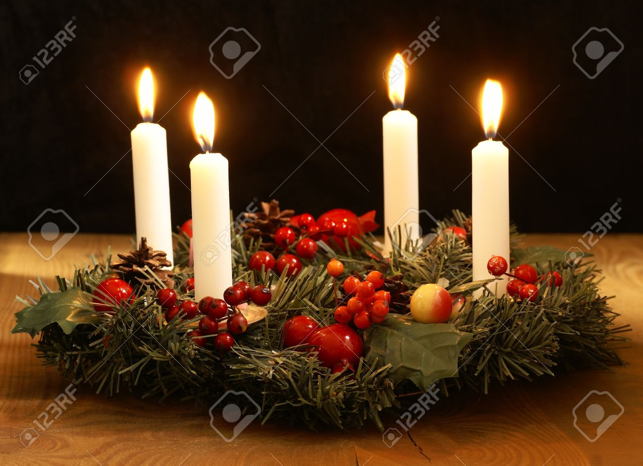Advent Wreath Decorations Advent Wreath Stock Photos Images Royalty Free Advent Wreath