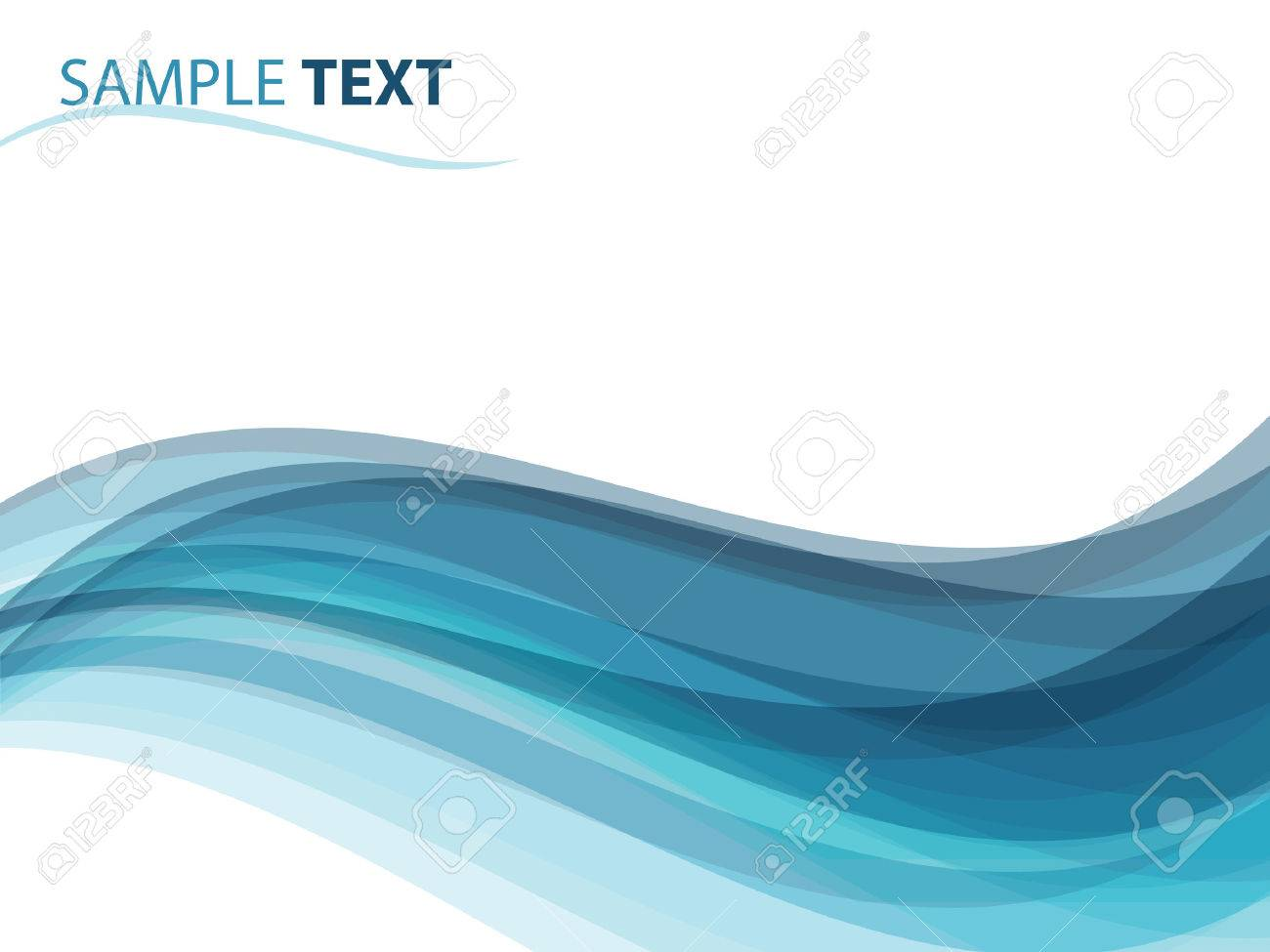 Abstract Background Like Ocean Waves Illustration