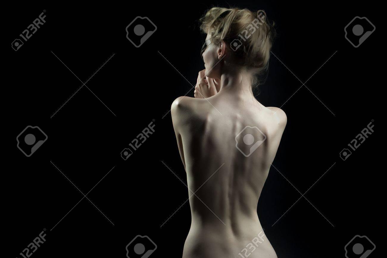 Der perfekte nackte weibliche Körper