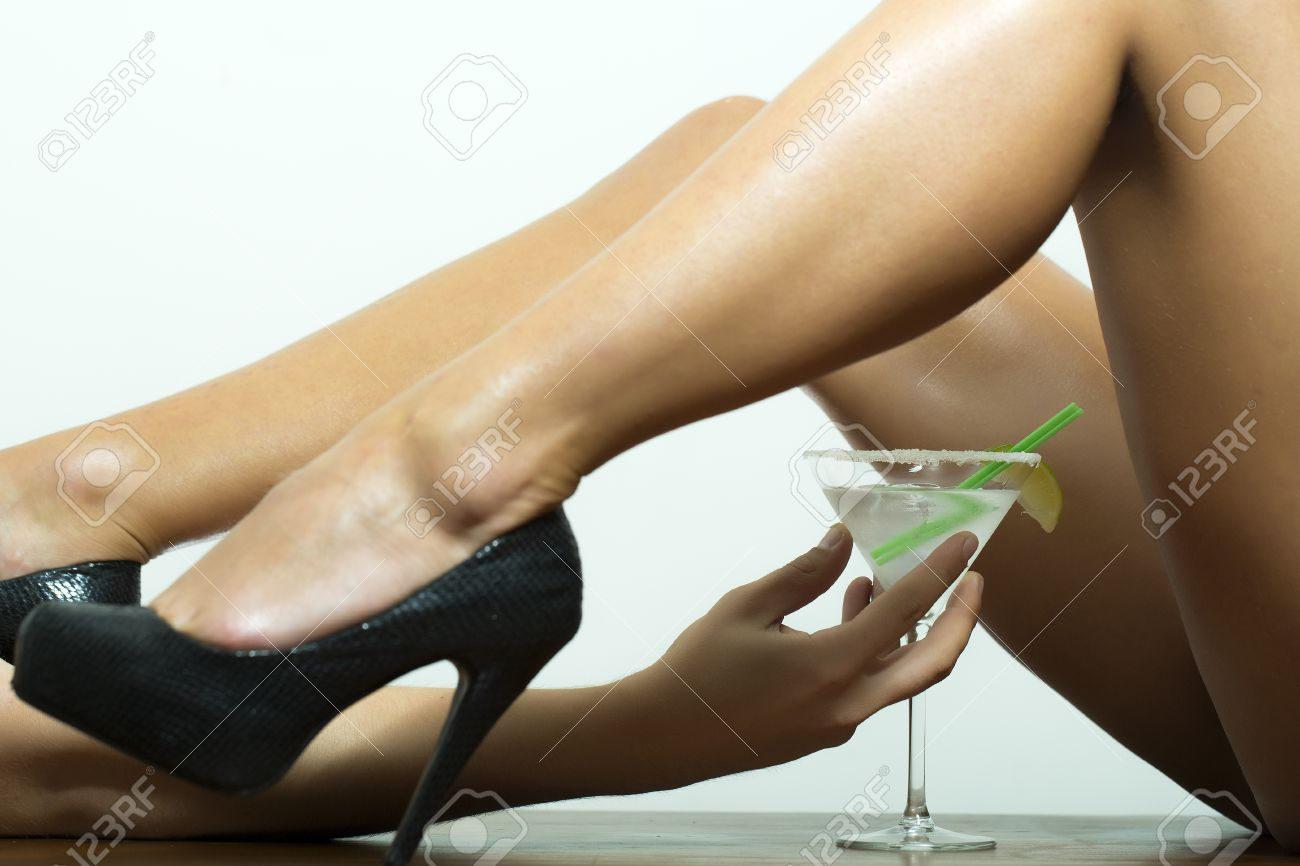 high heel nackt