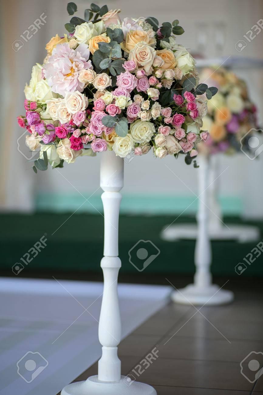 Dekorieren Hochzeit Bouquet Von Frischen Schonen Blumen Aus Rosen