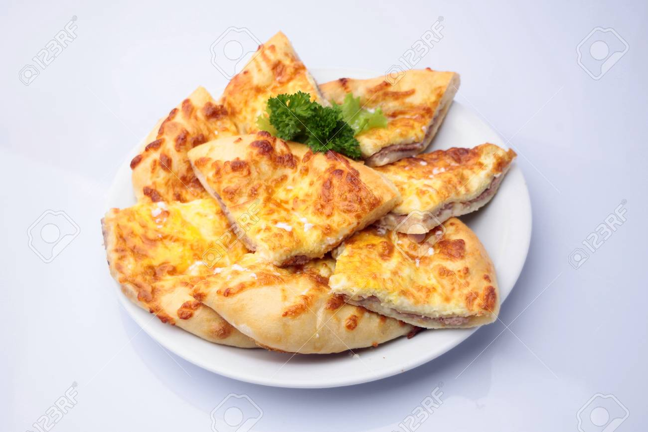 Fragrant Warm Ruddy Khachapuri Megruli With Melted Suluguni Filled Stock Photo Picture And Royalty Free Image Image 43056588