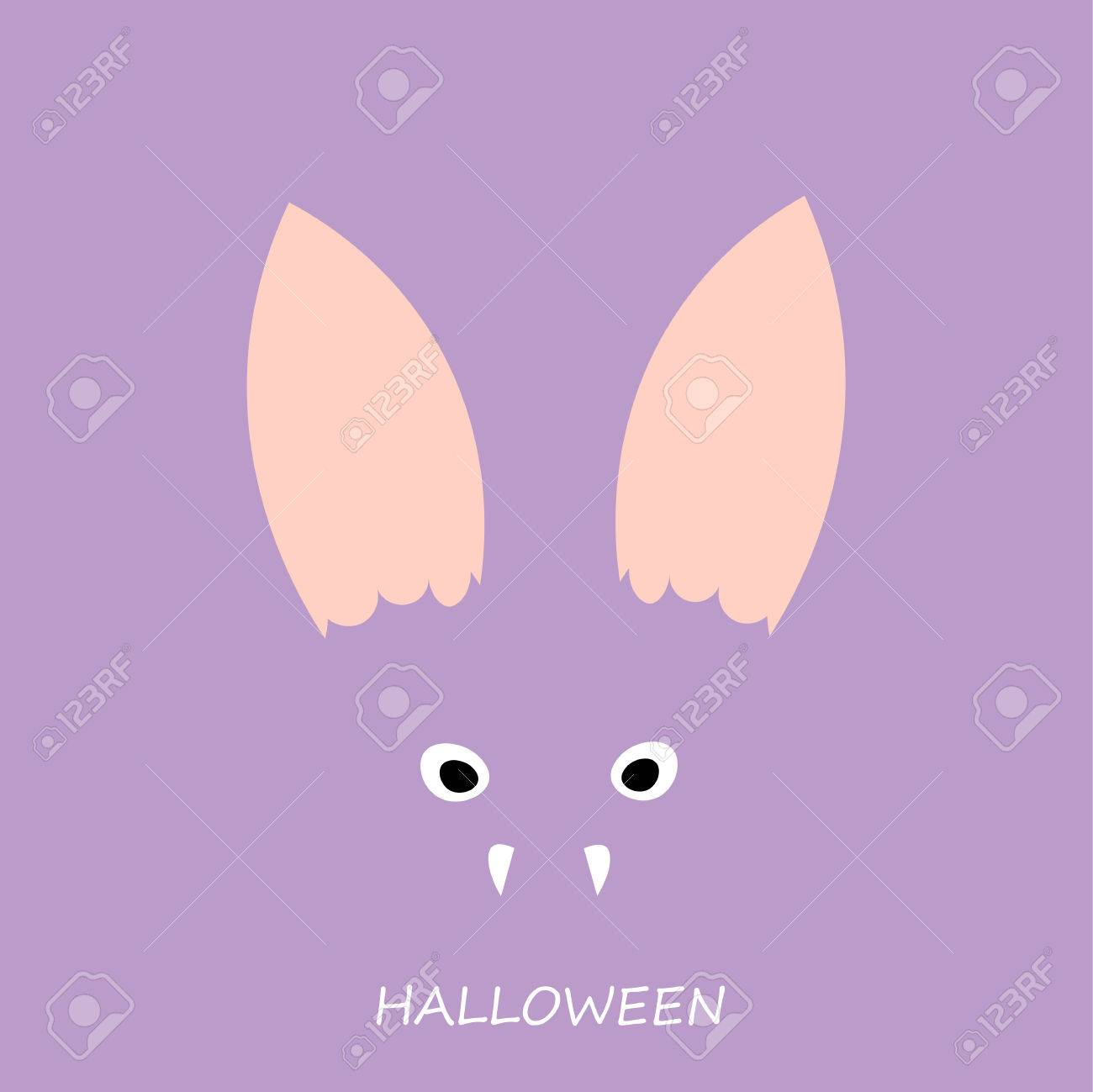 Beautiful Art Creative Colorful Halloween Holiday Wallpaper Vector Il Ration Of Cover With Closeup Face View Of