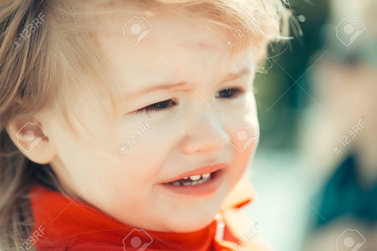 sad baby boy is about to cry stock photo picture and royalty free