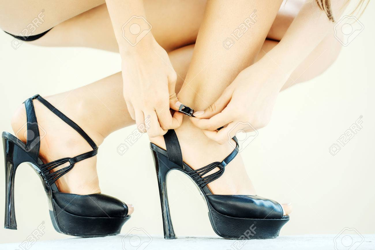 De Bombas Lujo Alto Sexo Femenino Zapatos Negros Crxweqboed Del Tacón F3ulKcT51J