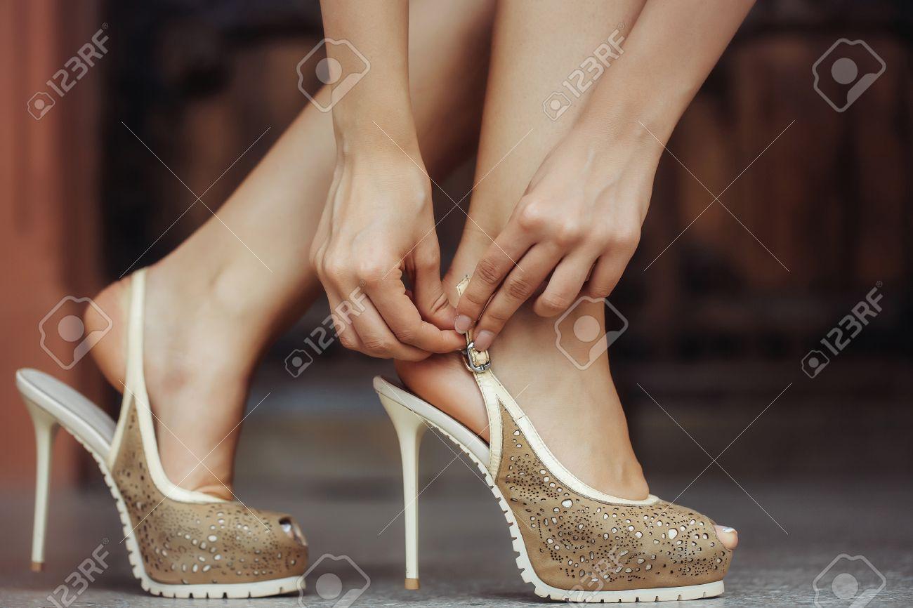Bombas Lujo Tacón De Mujer Color Zapatos Alto Beige 10Bwz