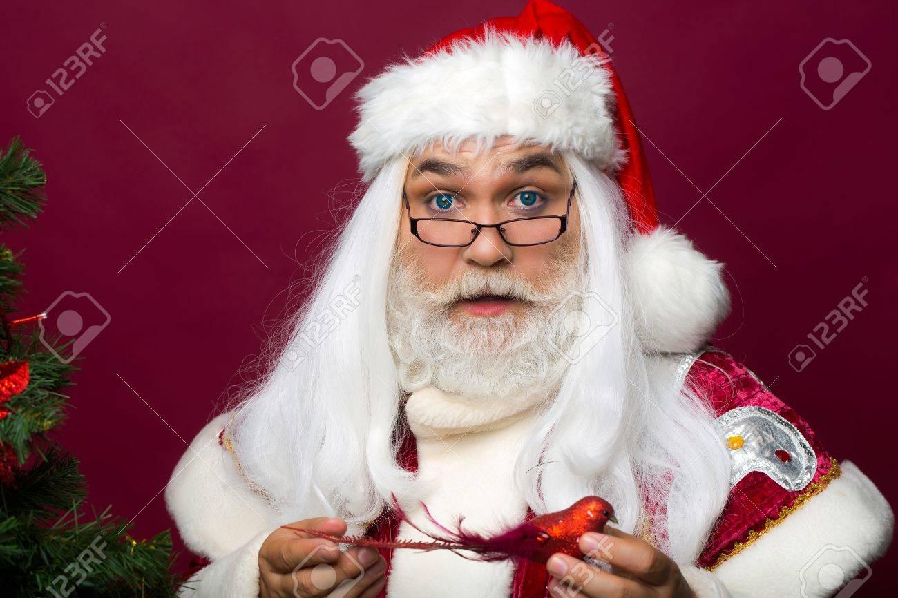 Nouvelle barbe blanche avec moustache Santa Clause Père Noël Déguisements
