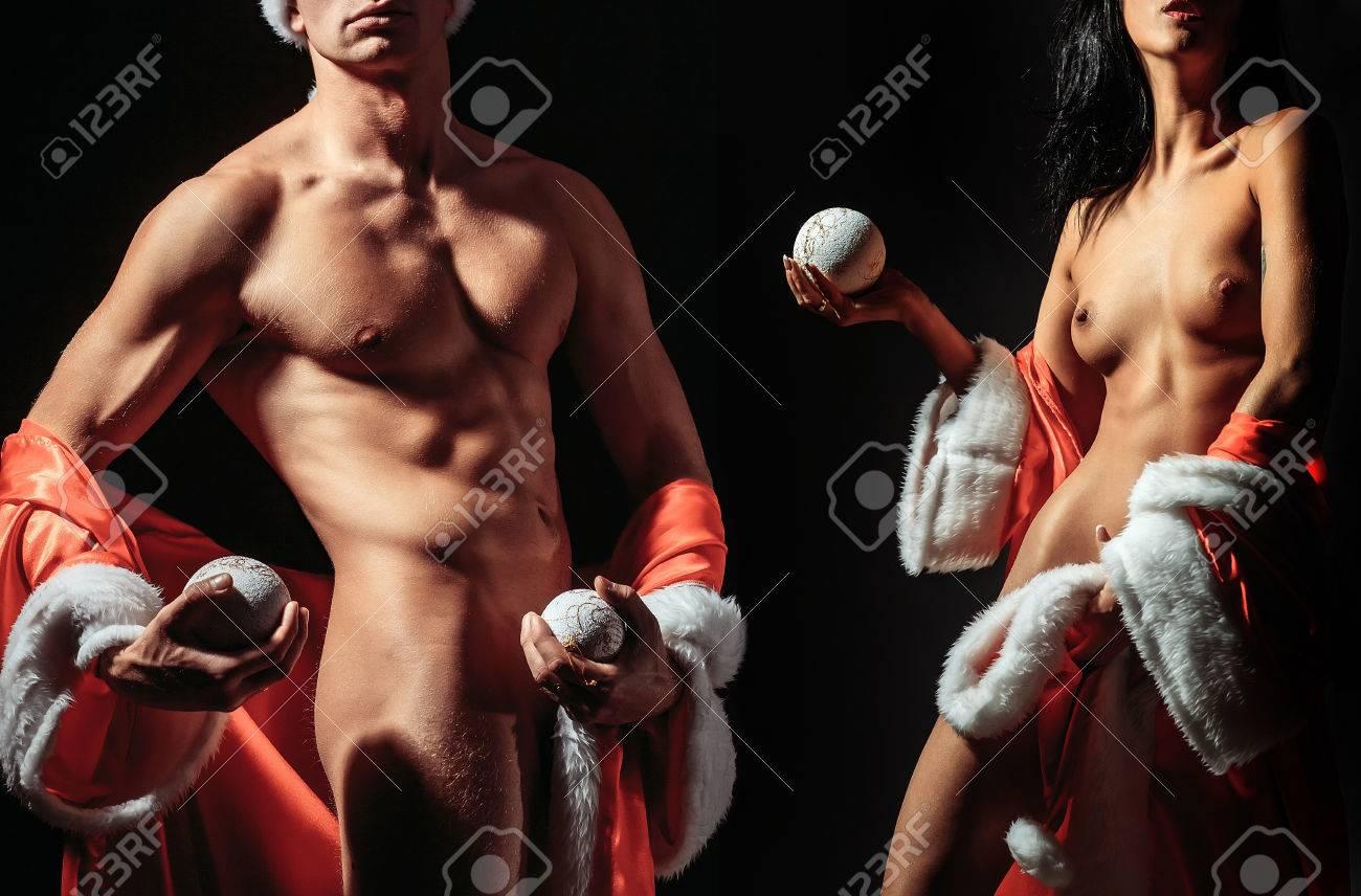 weihnachten paare nackt