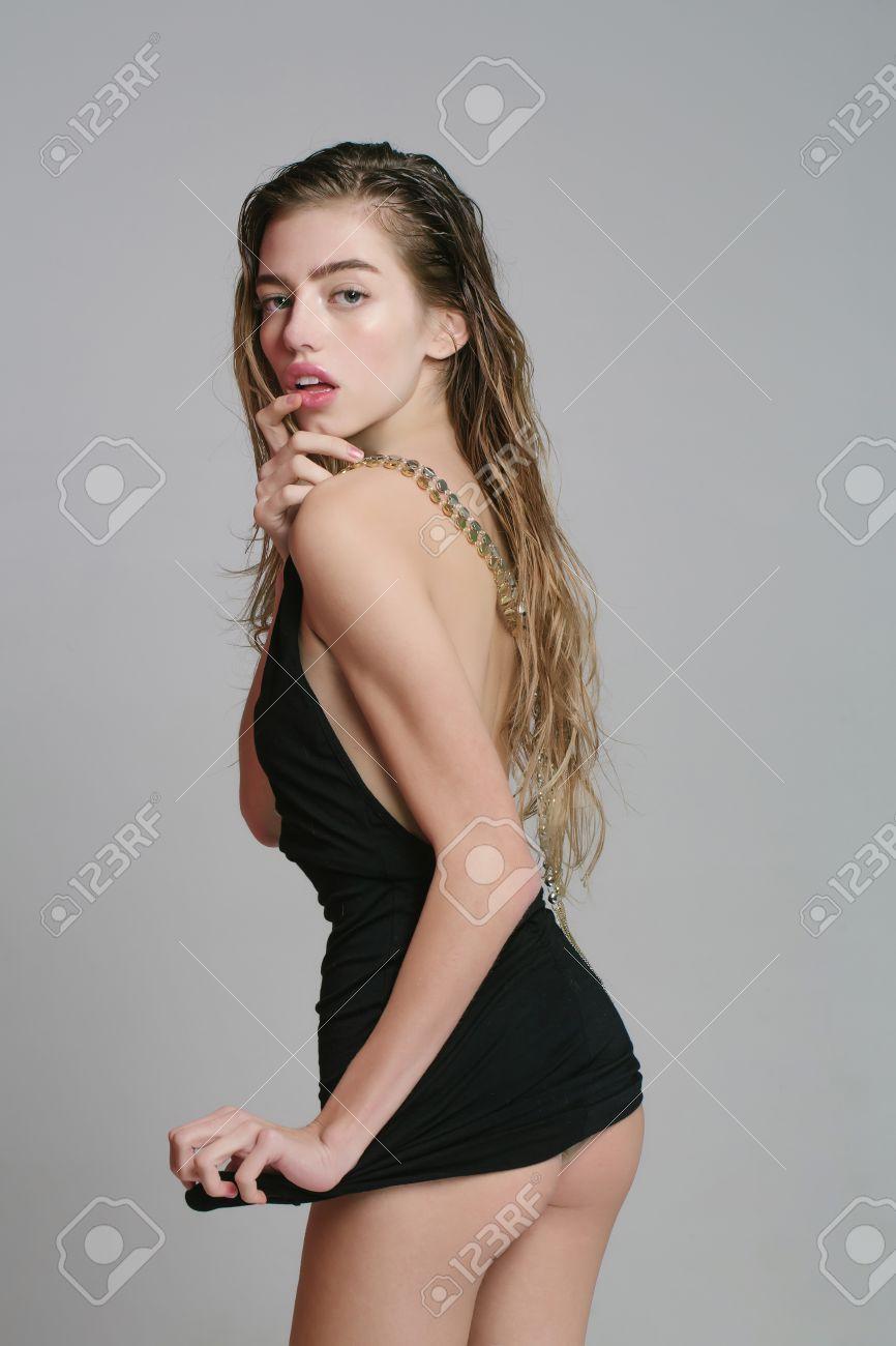 GroГџe sexy schwarze Esel
