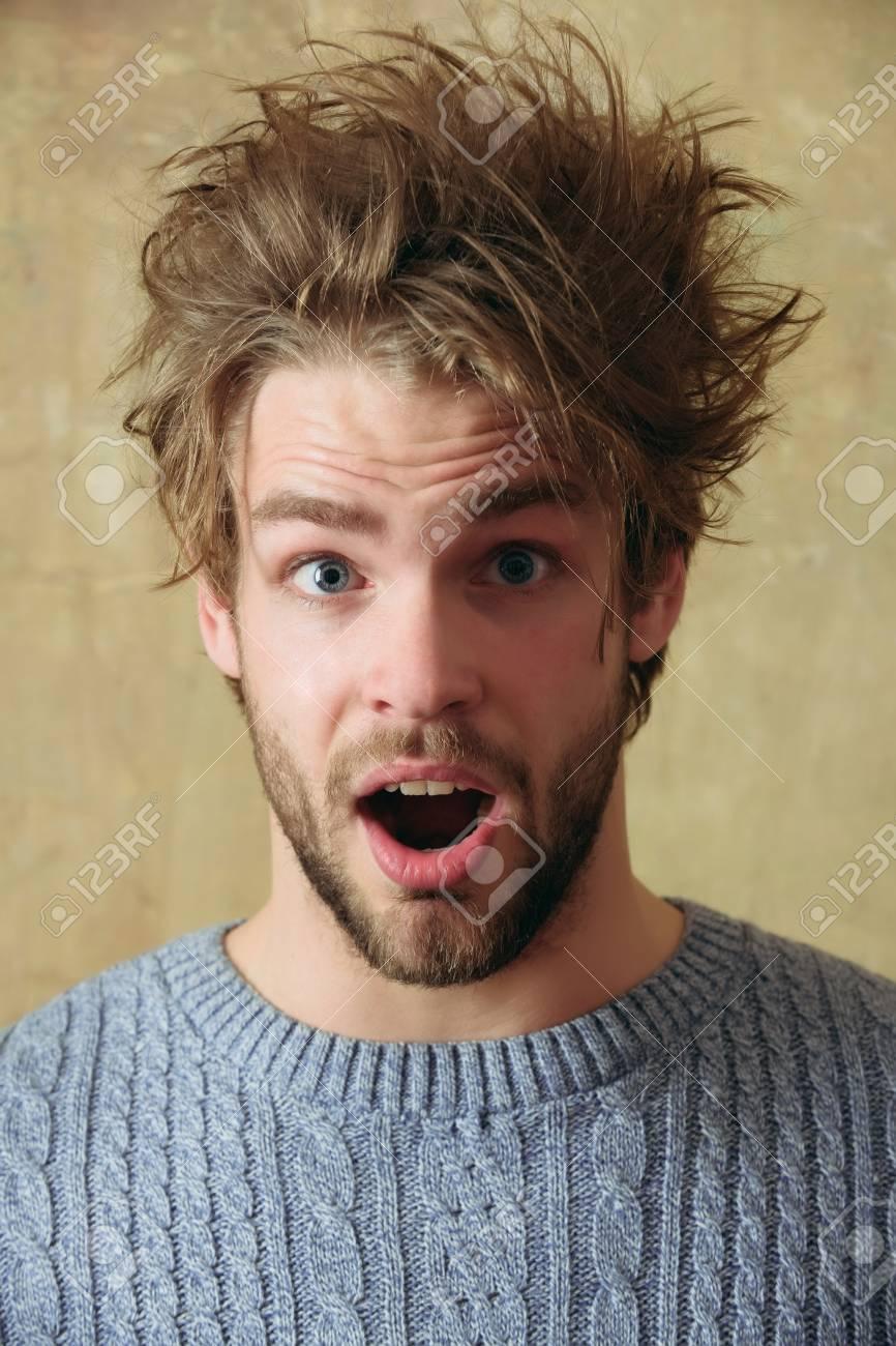 Frisur bart und Bart und