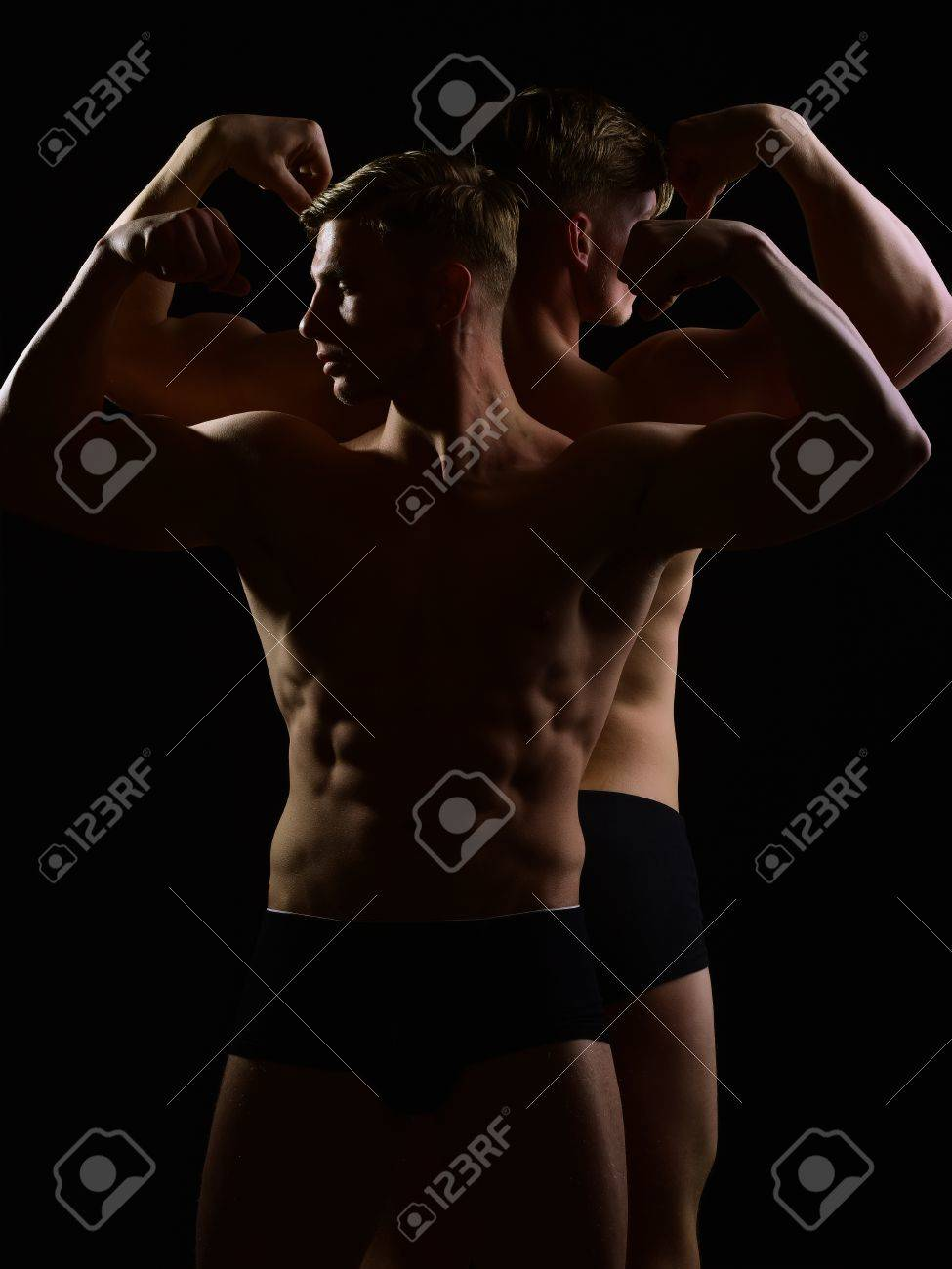 Gay muscle twins