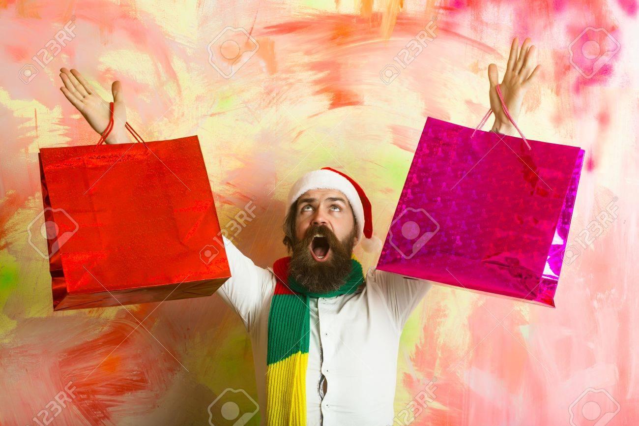 Bufanda Hombre cl/ásico Feliz navidad santa claus Silhouette Hombres y mujeres Invierno Largo Poli/éster Bufanda Chal Salvaje Suave Impresi/ón de doble cara de ancho completo