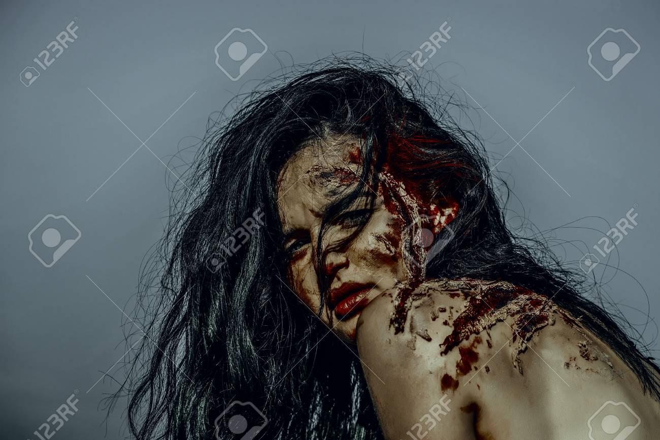 Meet naked Black Bloody Naked Woman Pic