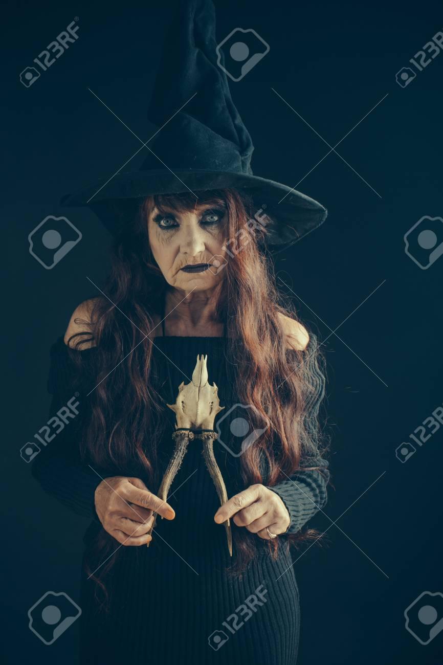 Dia Das Bruxas Velha Senhora Chapeu De Bruxa Mulher Adulta De