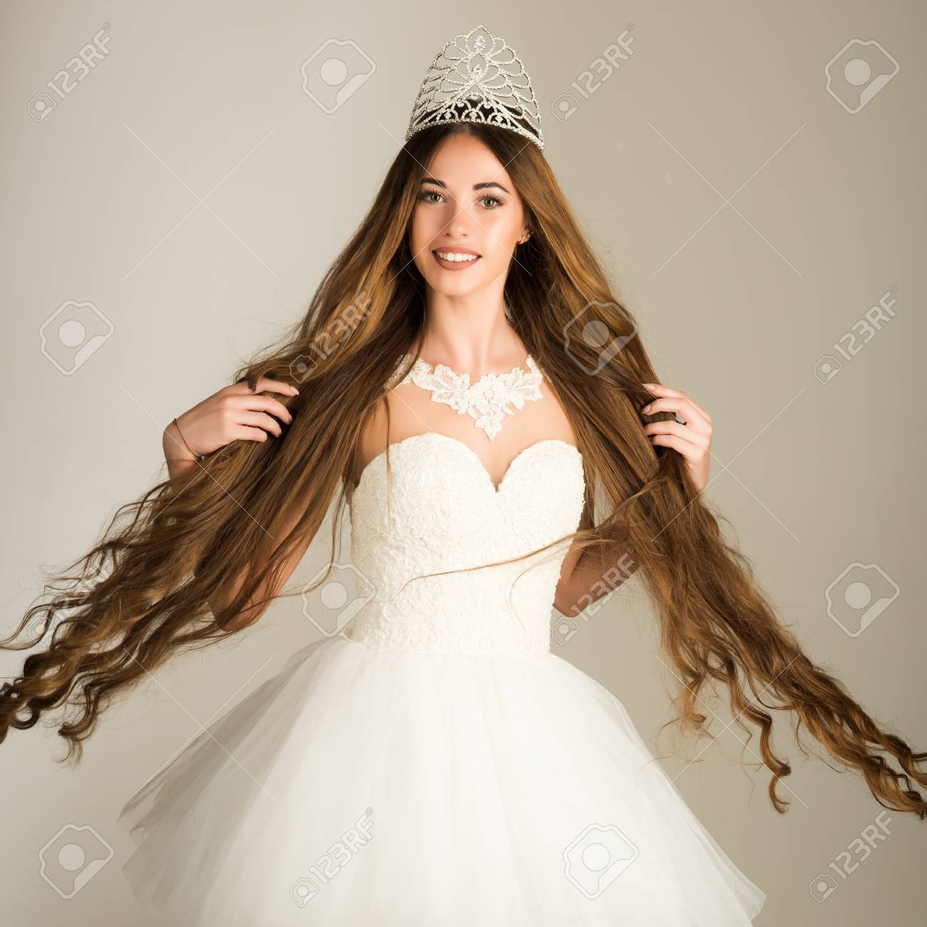 Beauty Salon And Wedding Fashion Girl Has Fashionable Makeup Stock Photo Picture And Royalty Free Image Image 89053545