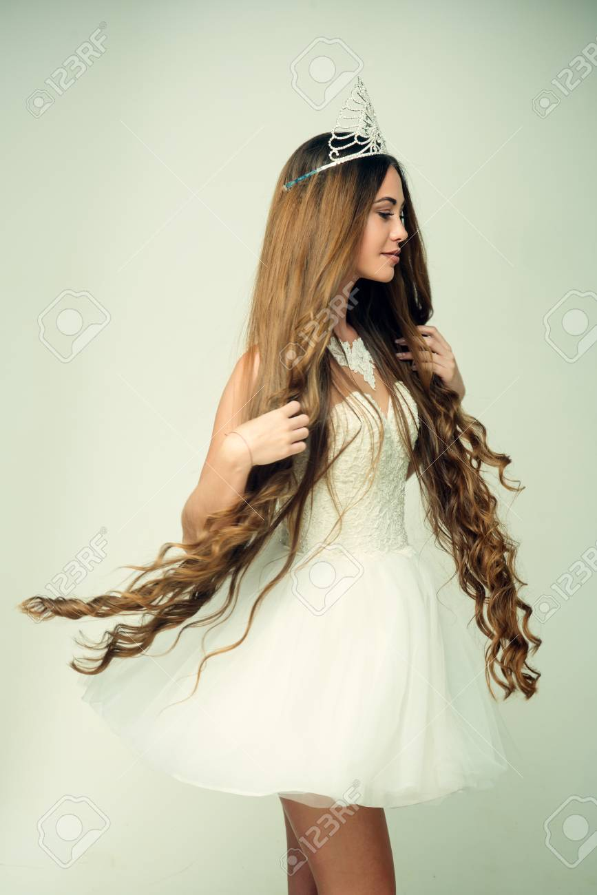 Hairdresser And Cosmetics Beauty Salon And Wedding Fashion Stock
