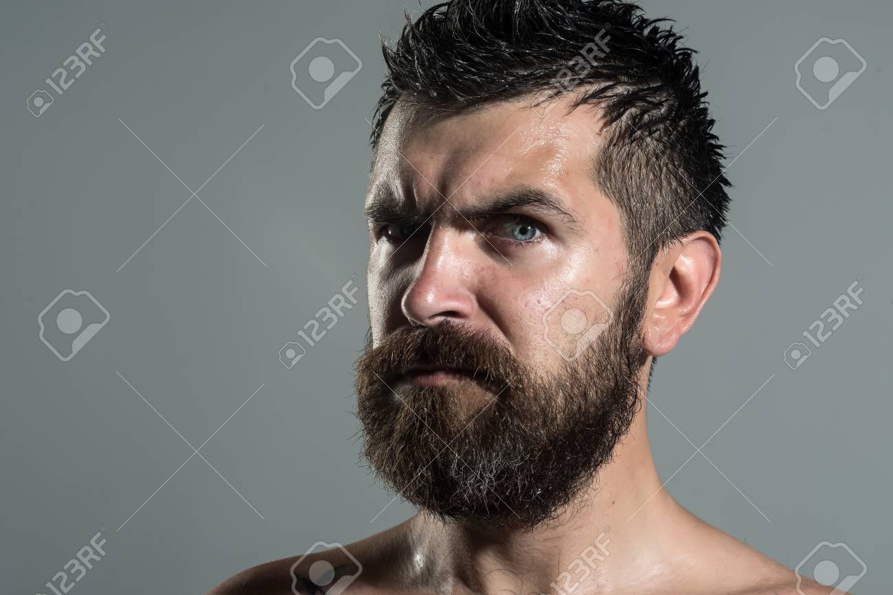 Serious face guy naked pic 64