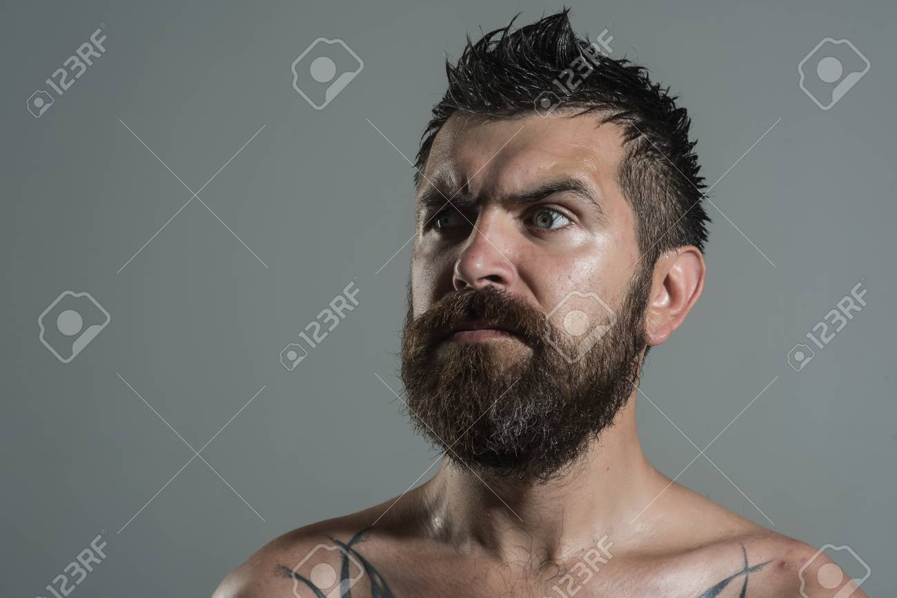 Serious face guy naked pic 495