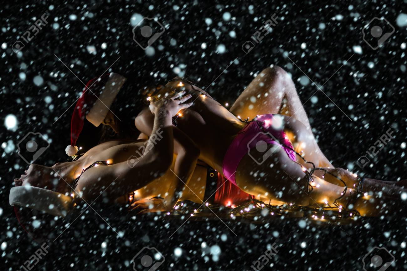 svart Christmas sex homofil squirting