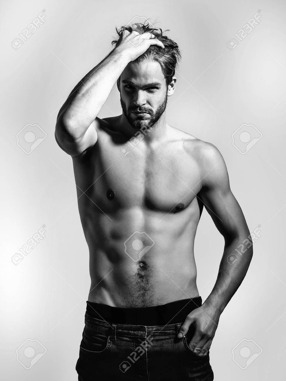 handsome guy model