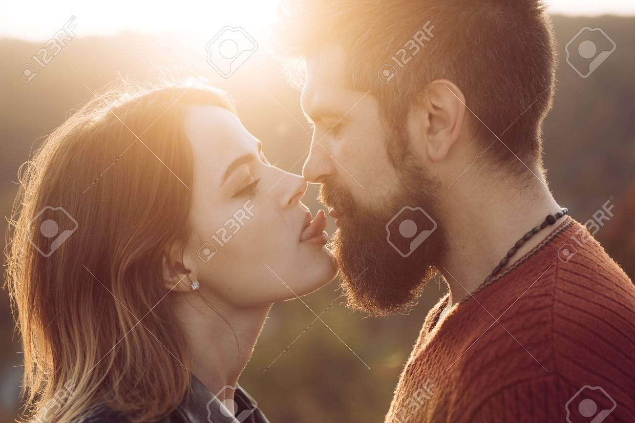 Long Tongue Lesbian Kissing