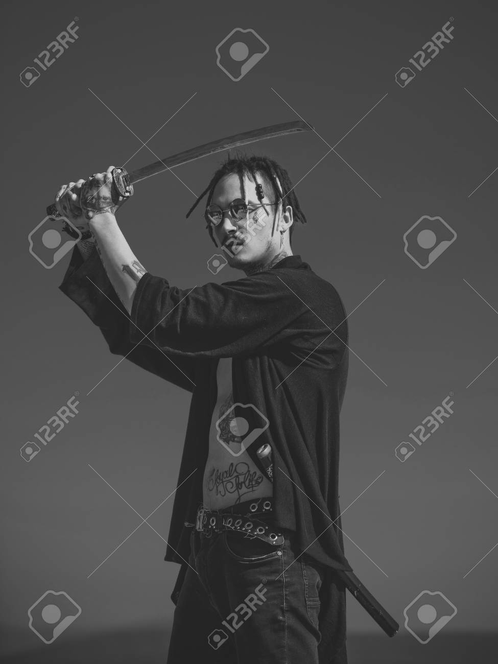 Samurai And Japan Weapon Stock Photo Picture And Royalty Free Image Image 101522344