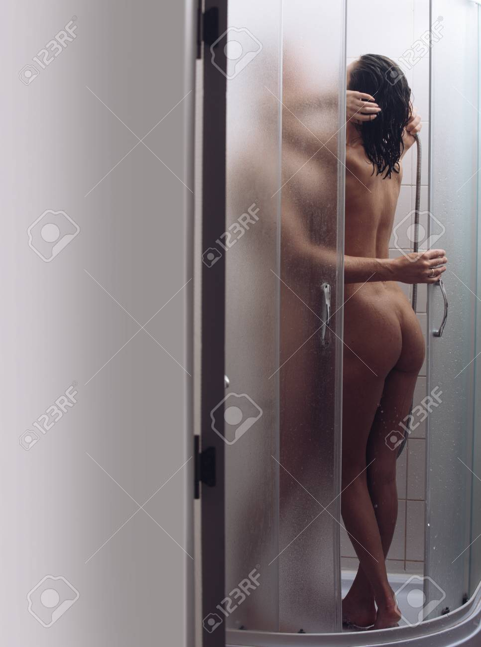 Spa shower girl nude