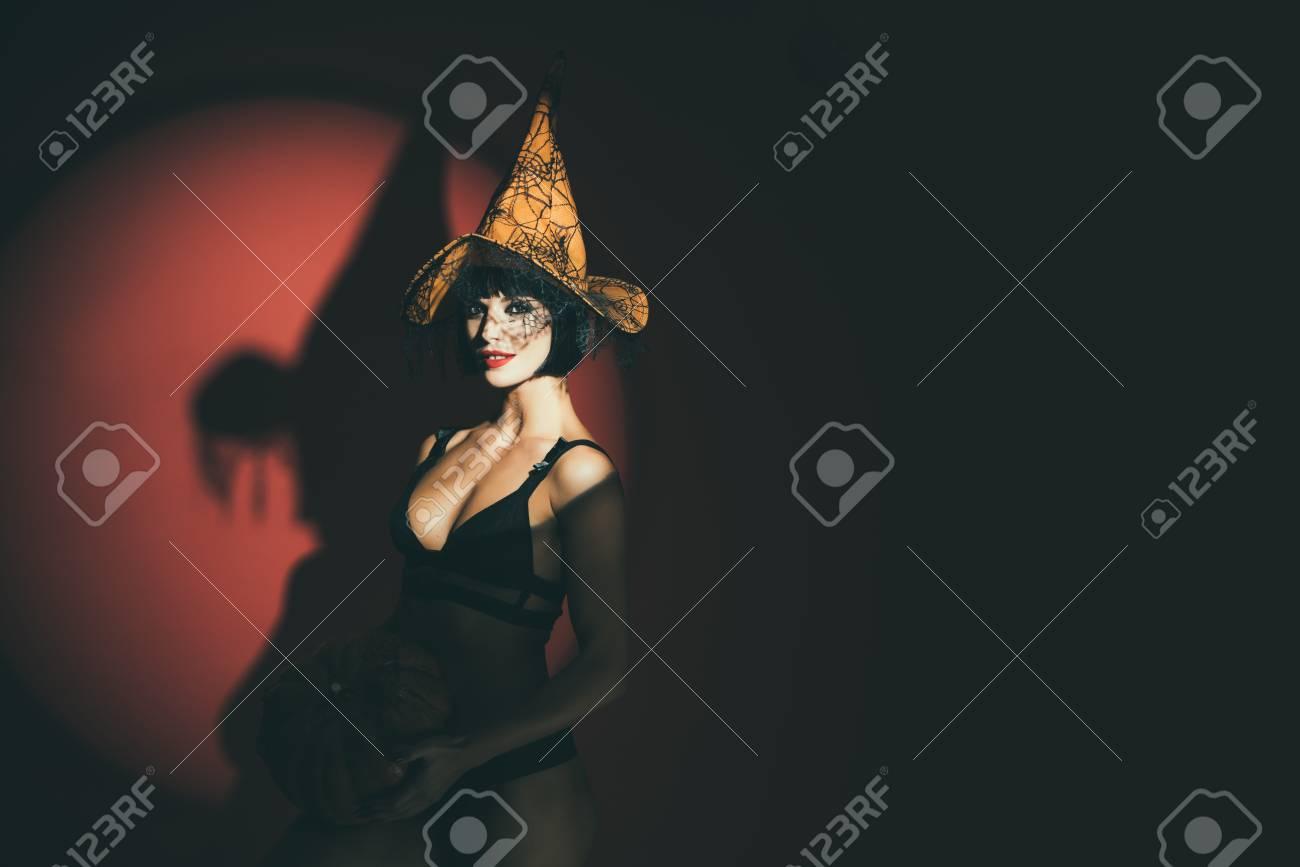 Sexy women in lingerie stripping