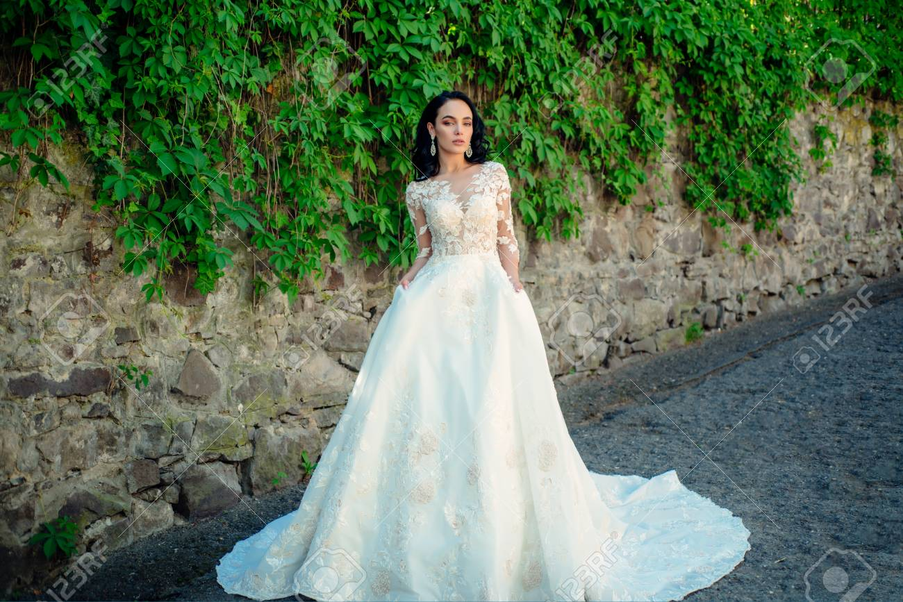 Beautiful Wedding Dress.Wonderful Bridal Gown Beautiful Wedding Dresses In Boutique