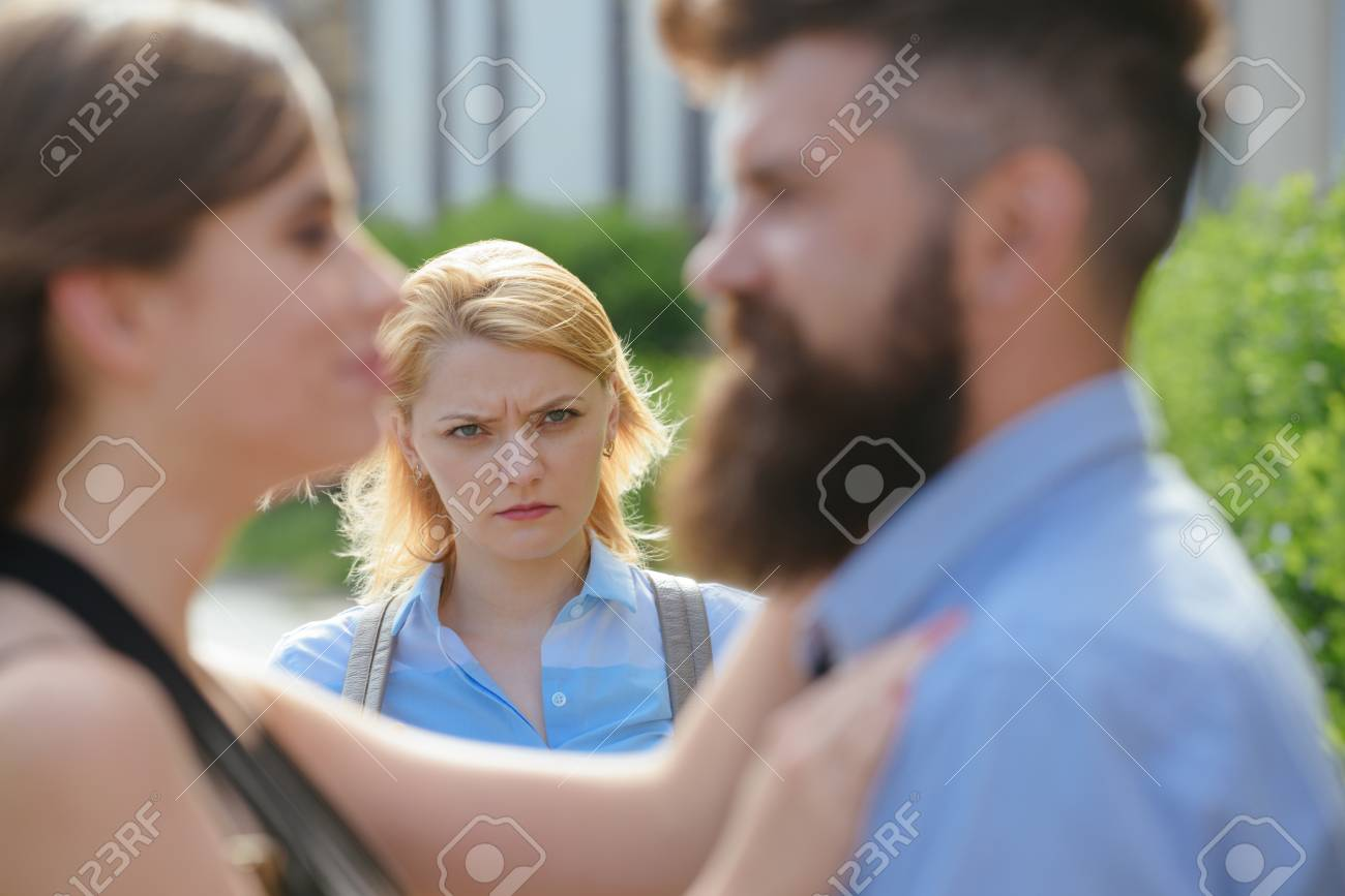 Woman another is jealous woman that of a Female Jealousy: