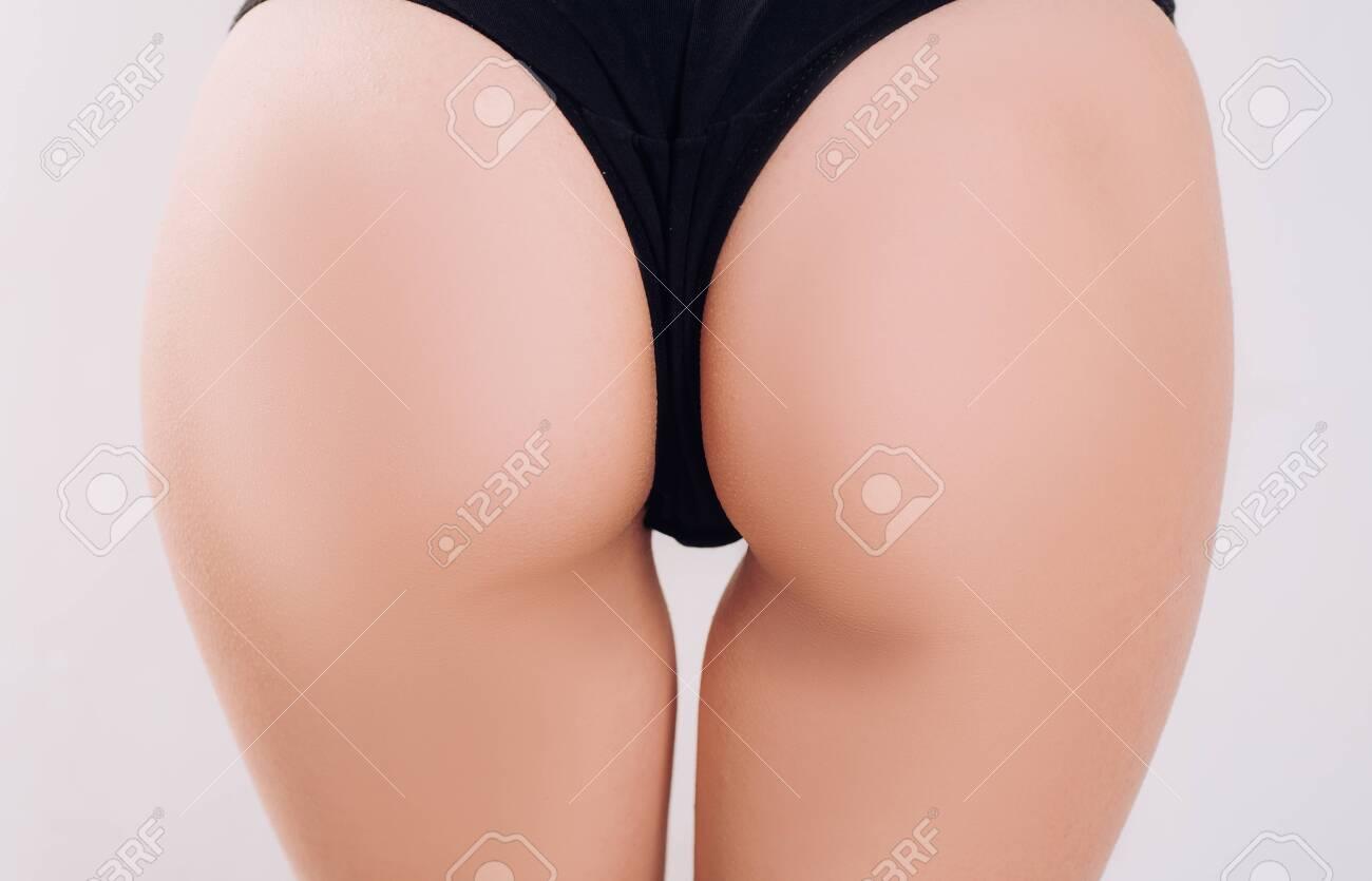 Sensual Attractive Woman Ass Erotic Lingerie Desire Valentines