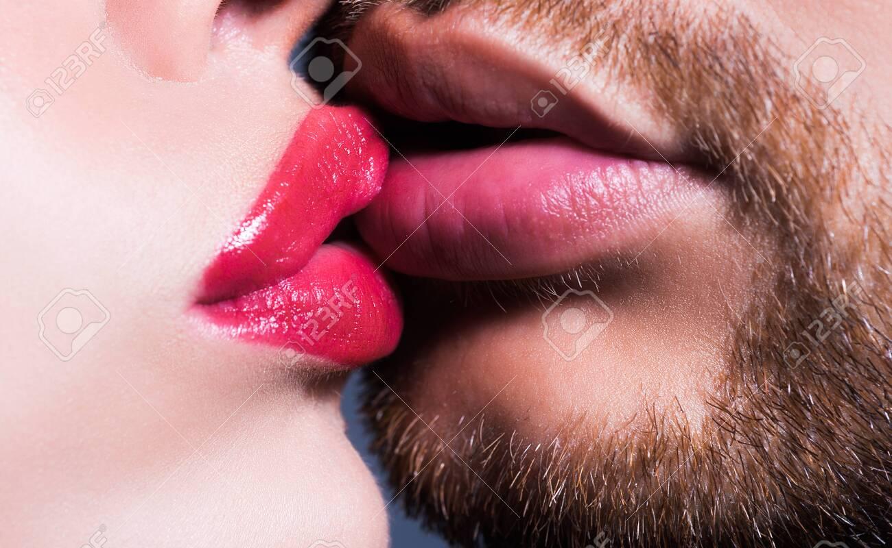 Hot Couple Tongue Kissing