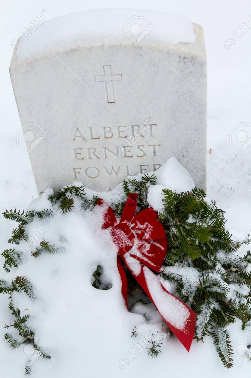 2012 Wreaths Across America at Fort Logan National Cemetery Colorado Stock Photo - 16943124