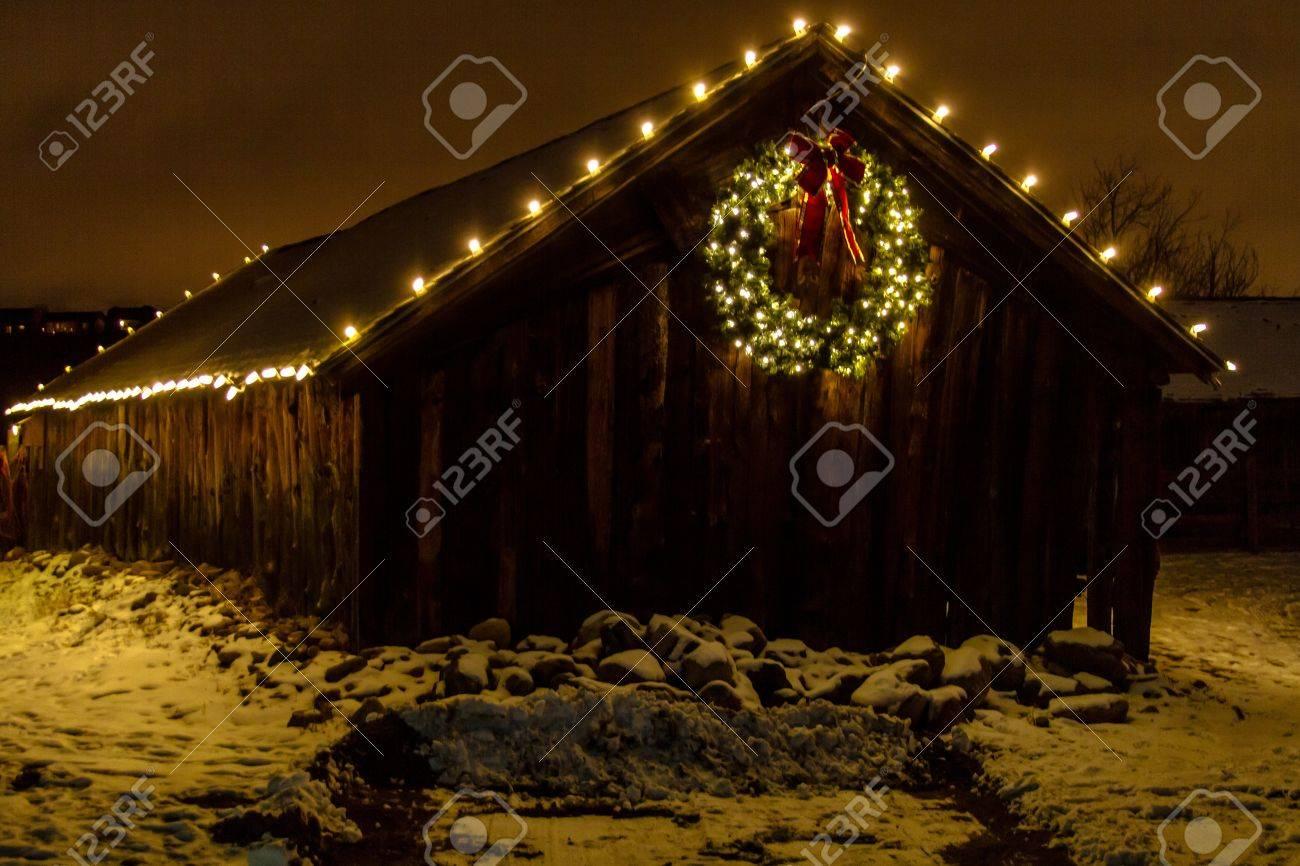 2012 Denver Botanical Gardens Trail of Lights Christmas light display at Chatfield Stock Photo - 17523545