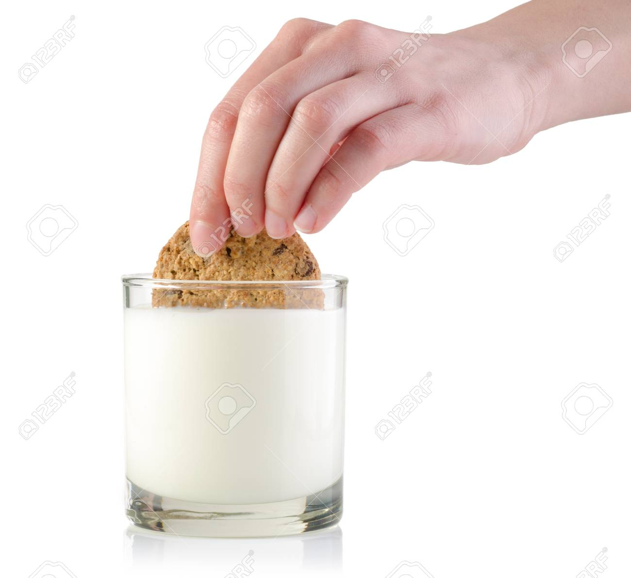 Image result for dunking cookies in milk