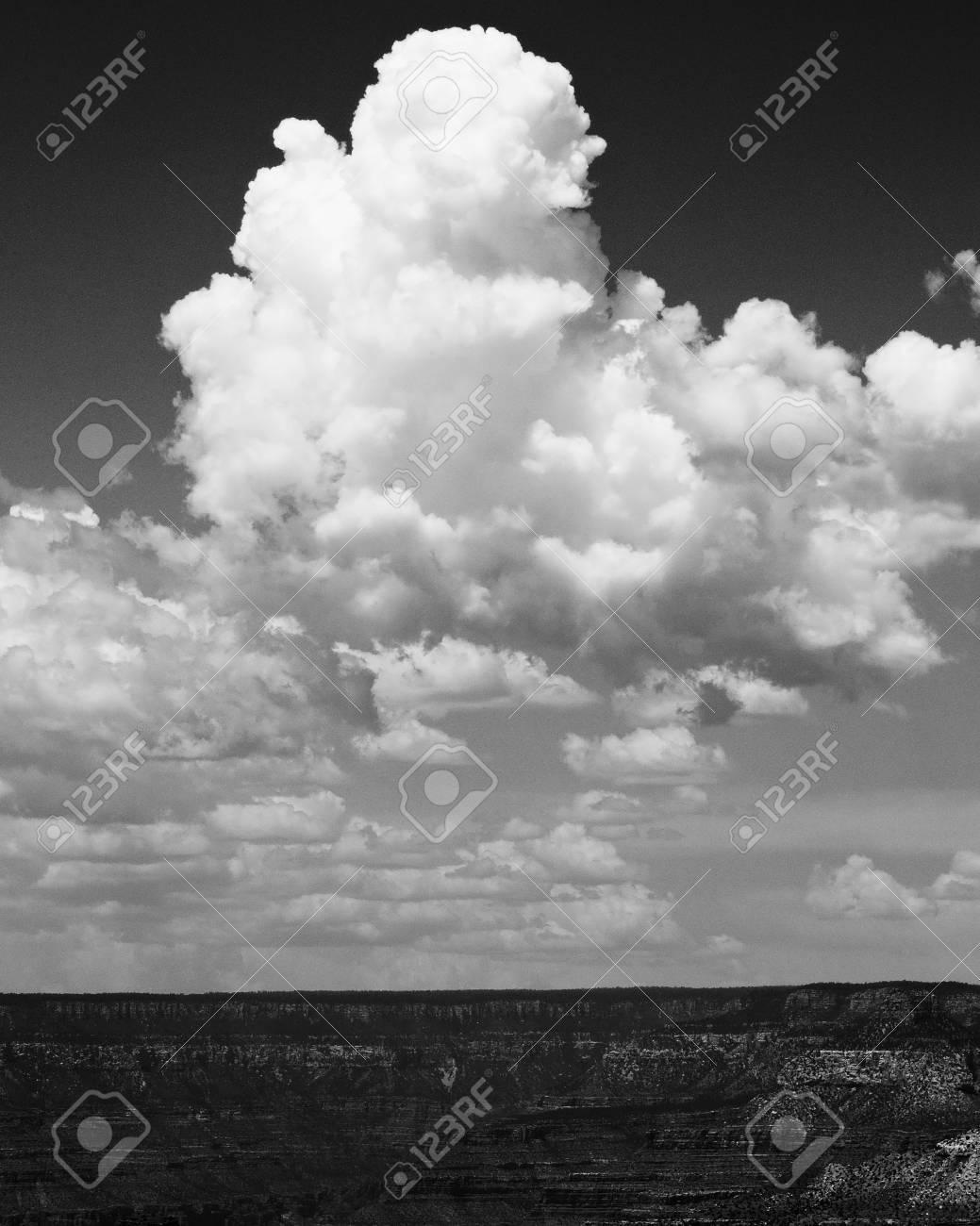 Towering Cumulus Clouds Stock Photo - 54780761