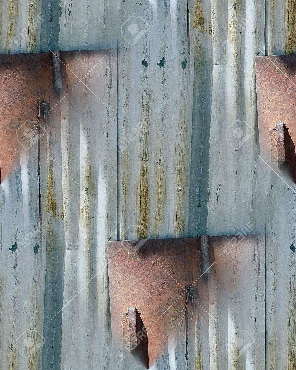 Aluminum Siding Seamless Repeating Pattern Stock Photo - 54780770