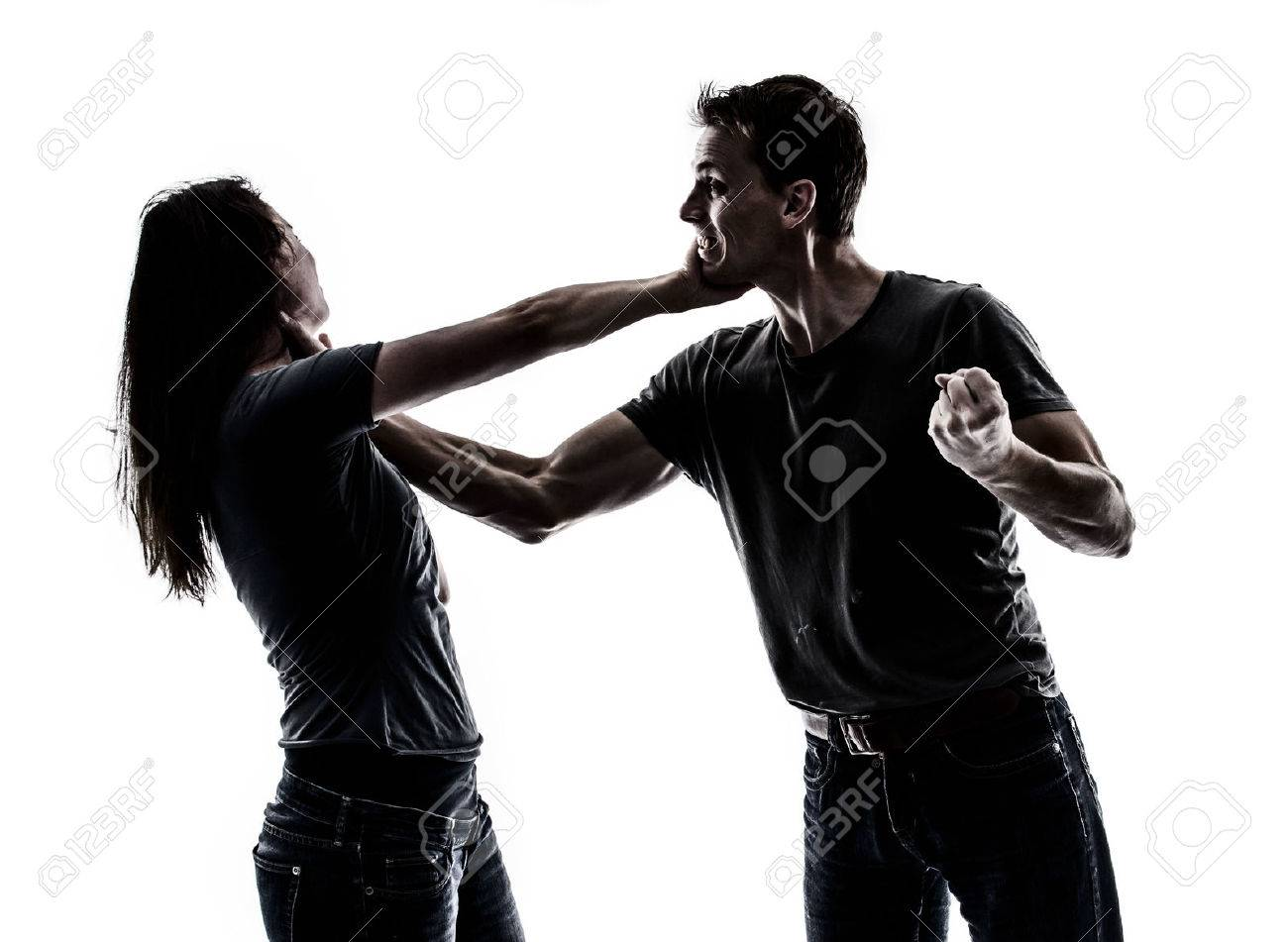 Domestic violence Stock Photo - 22427878