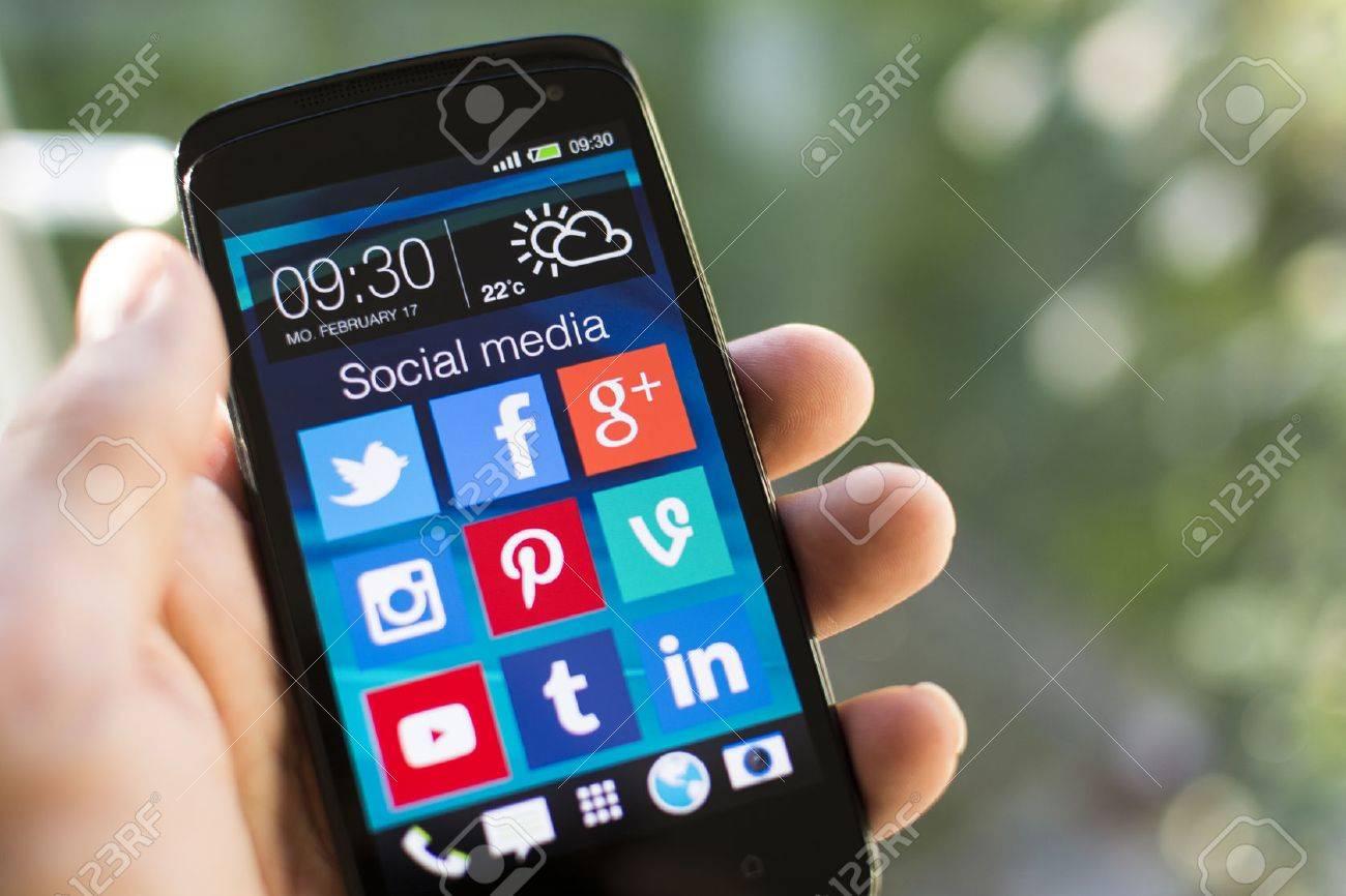 social media icons - 26255525