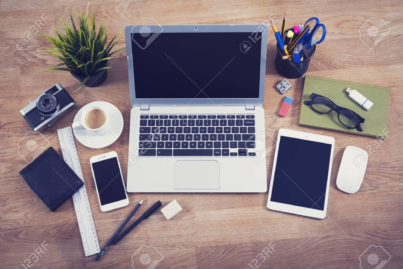 office desk tops. wonderful desk top view office desk hero header image stock photo  42907467 to office desk tops