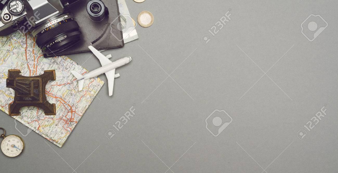top view traveling hero header - 50830163