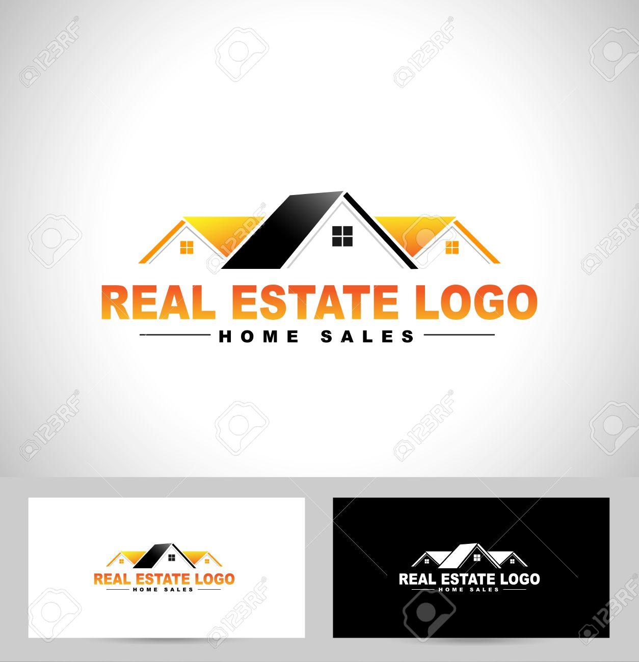 Real Estate Logo Design. House Logo Design. Creative Real Estate ...