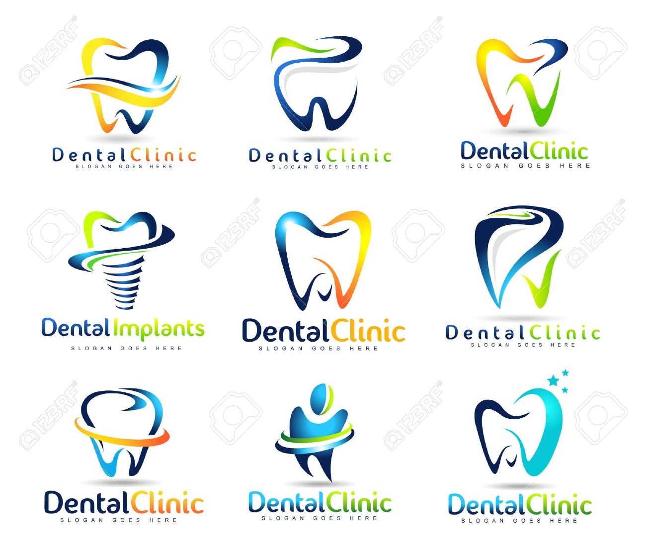Dental Logo Design. Dentist Logo. Dental Clinic Creative Company ...