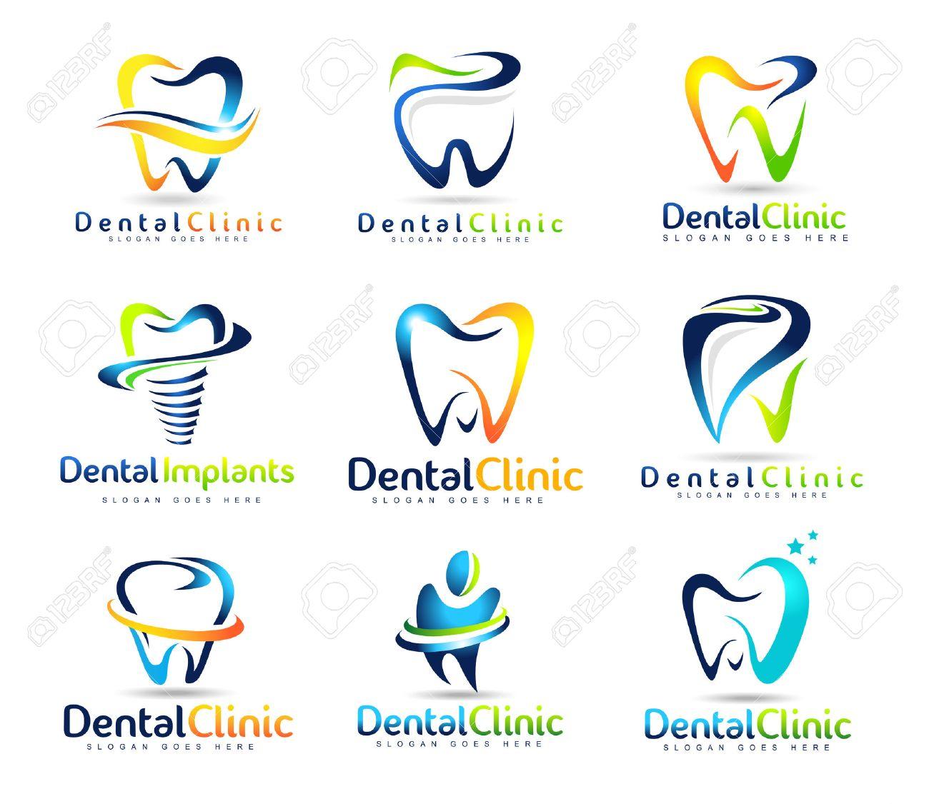 dental logo design dentist logo dental clinic creative company