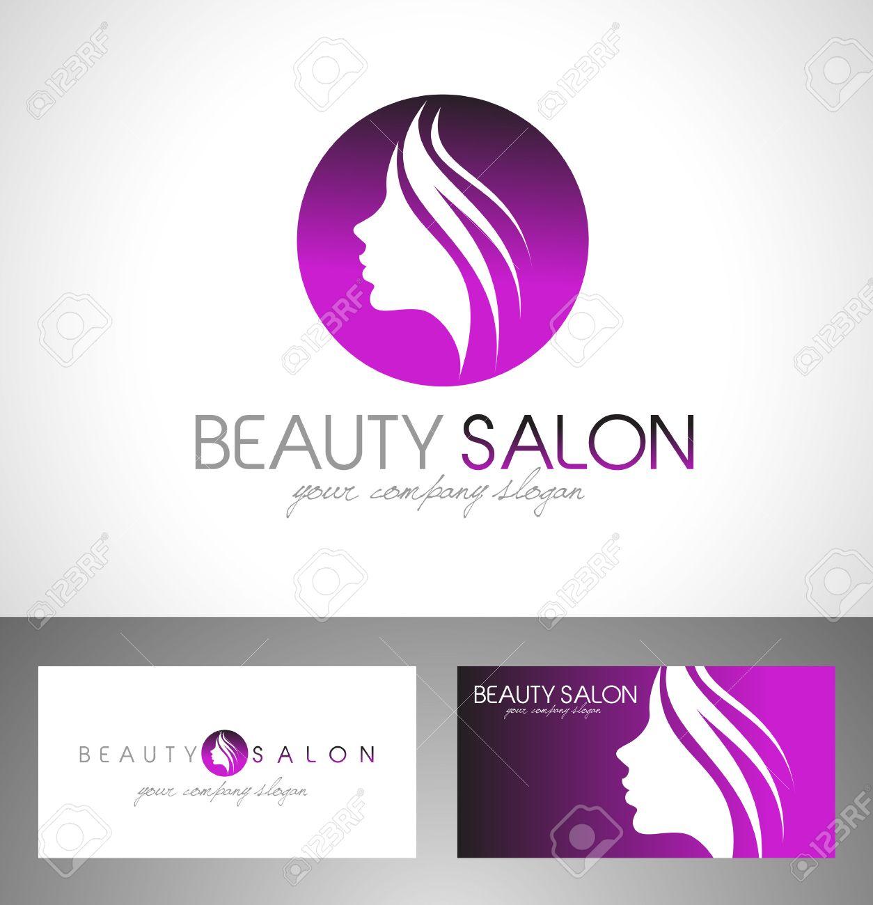 Beauty Female Face Logo Design Cosmetic Salon Logo Design Creative Royalty Free Cliparts Vectors And Stock Illustration Image 45363230