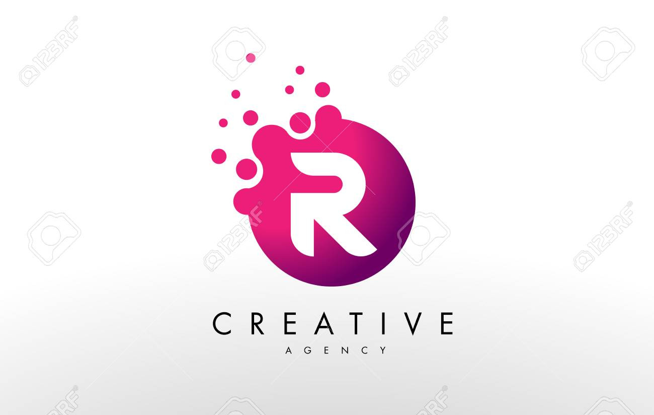 Dots letter r logo r letter design vector with dots royalty free dots letter r logo r letter design vector with dots stock vector 70453577 thecheapjerseys Gallery