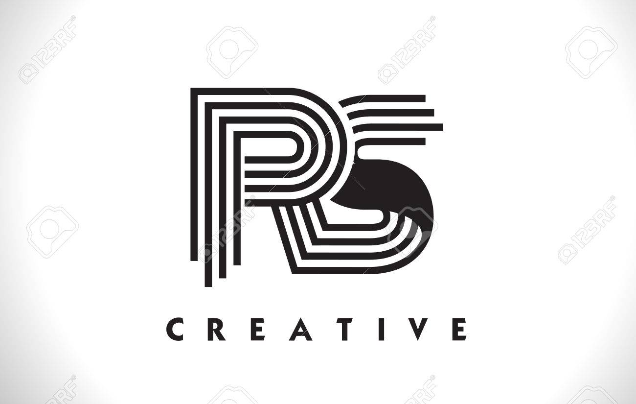 Rs letter logo with black lines design line letter symbol vector rs letter logo with black lines design line letter symbol vector illustration stock vector buycottarizona Image collections