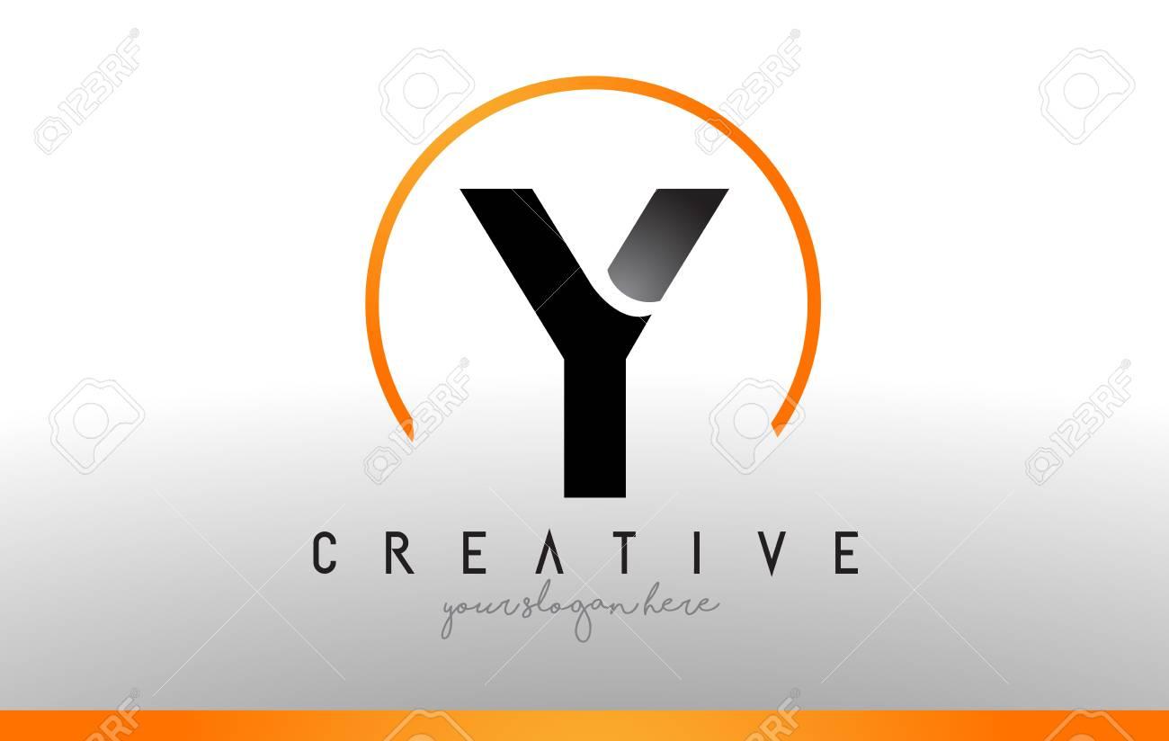 Y letter logo design with black orange color cool modern icon vector y letter logo design with black orange color cool modern icon letters logo vector altavistaventures Image collections