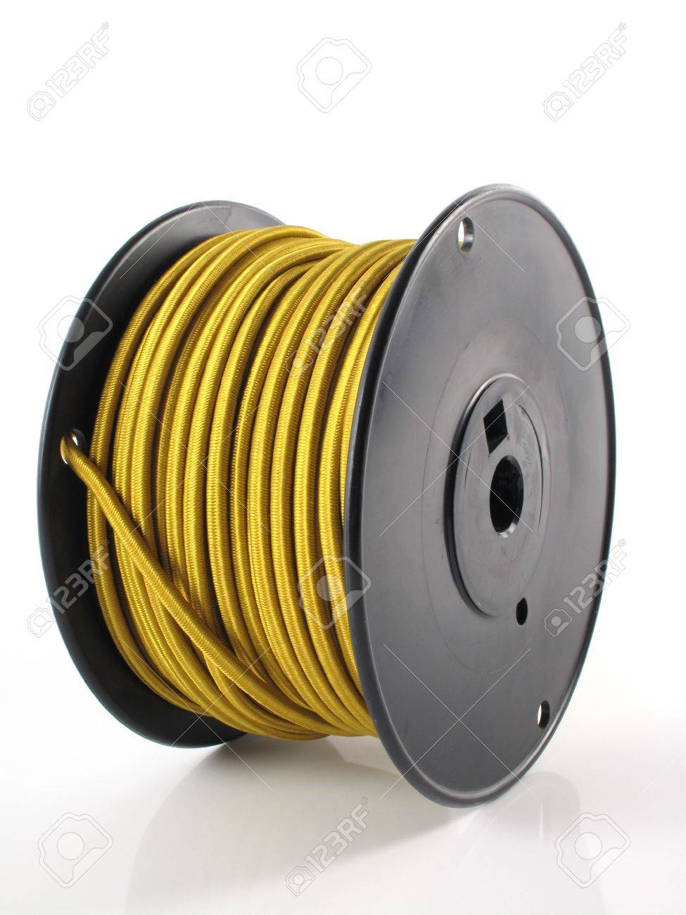 Brilliant Large Spool Of Gold Wire Used For Wiring Lamps Stock Photo Picture Wiring Database Indigelartorg